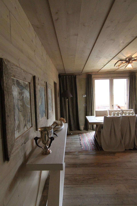 pareti legno Chalet di montagna_falegnameria Bariza