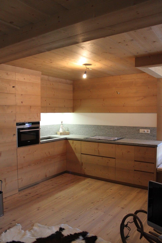 cucina moderna in legno_falegnameria Bariza