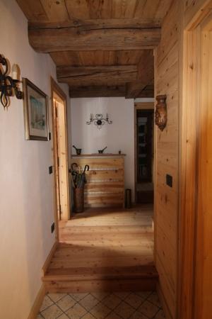 ingresso Chalet di montagna_falegnameria Bariza