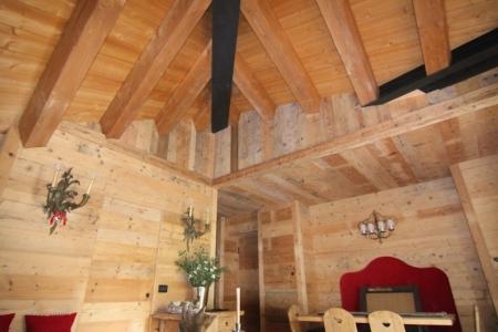 Soffitto in legno_falegnameria Bariza