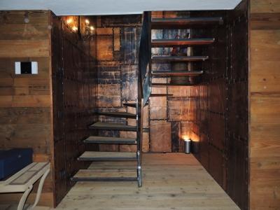 scale in legno e metallo_falegnameria Bariza