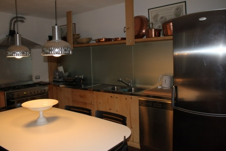 cucina legno acciaio_falegnameria Bariza