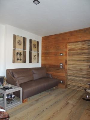 salotto di chalet_falegnameria Bariza