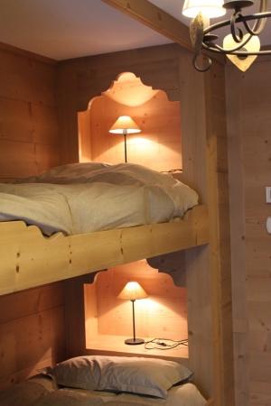 letto a castello in cameretta in legno_falegnameria Bariza