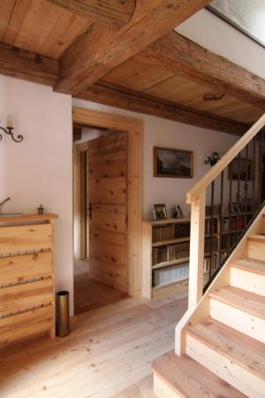 Chalet in legno ingresso_falegnameria Bariza
