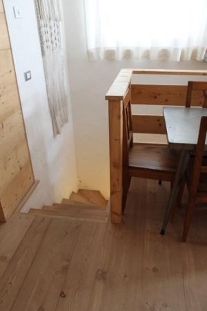 giroscala in legno_falegnameria Bariza