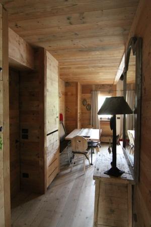ingresso casa in legno_falegnameria Bariza