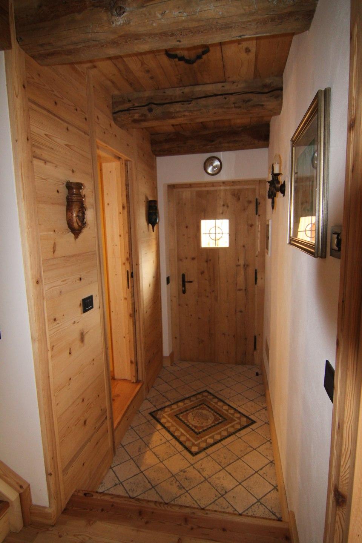 Porta ingresso legno_falegnameria Bariza